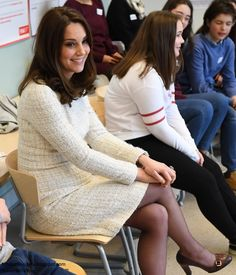 The Duke and Duchess of Cambridge, Crown Princess Victoria and Prince Daniel of Sweden visited Karolinska Institute and Matteusskolan January) Looks Kate Middleton, Princess Kate Middleton, Duke And Duchess, Duchess Of Cambridge, Princess Katherine, Catherine Walker, Prince William And Kate, Prince Daniel, Royal Families
