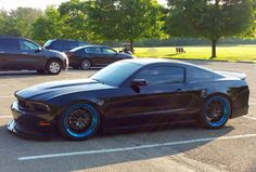 Rick's S197 Mustang GT is equipped with MBRP Performance Exhaust, UPR Products suspension, Air Lift Performance air bags, Baer Brakes, and Nitto Tire Invos on 20x10 & 20x11 Forgeline GX3 wheels finished with Graphite centers & inners and Transparent Blue outers. See more at: http://www.forgeline.com/customer_gallery_view.php?cvk=1641  #Forgeline #GX3 #notjustanotherprettywheel #madeinUSA #Ford #Mustang #S197