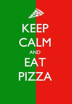 Keep calm and eat pizza to make this Summer Better. #BetterSummer #PapaJohns Contest Rules: http://papajohns.com/bettersummer