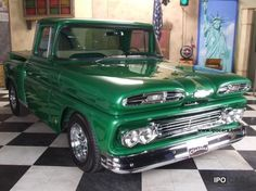 1961 Chevy Apache 10 Custom Truck Maintenance/restoration of old/vintage vehicles: the material for new cogs/casters/gears/pads could be cast polyamide which I (Cast polyamide) can produce. My contact: tatjana.alic@windowslive.com