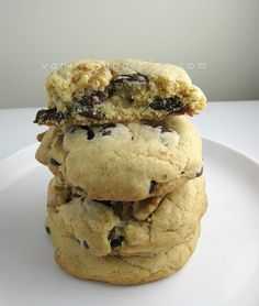 Greatest Chocolate Chip Cookies. EVER. Seriously. No really.