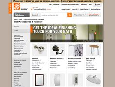 homedepot.com category page