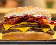 Burger Kings Latest Is The New Bacon King Which Features A Half Pound Of Flame Grilled Beef And Six Slices Thick Cut