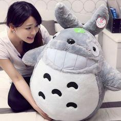 "Totoro Stuffed Toy Plush Doll - 30""/39""/47"" $48.09"