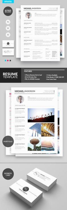 Minimal Resume Design for Creatives