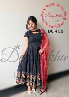 Deepshikha Creations Contact 090596 83293 Email deepshikhacreations com is part of Kalamkari dresses - Kurta Designs Women, Kurti Neck Designs, Dress Neck Designs, Salwar Designs, Kurti Designs Party Wear, Designs For Dresses, Blouse Designs, Fancy Sarees Party Wear, Party Wear Long Gowns