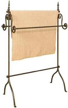 Oil Rubbed Bronze Metal Quilt Rack for only $79.50