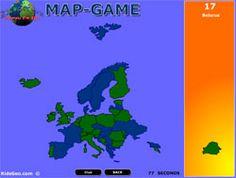 Briefträgergeografie Online - Online geography games