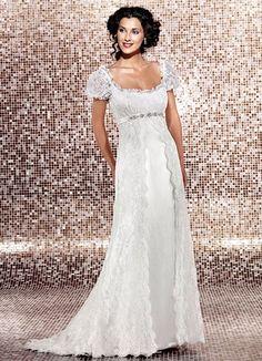 The empire wedding dress