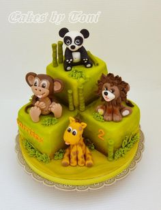 Jungle animals by Cakes by Toni