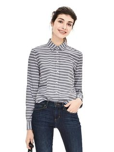Dillon-Fit Striped Shirt - perfect shirt by BR