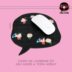 Mousepad | Linha Entre Coelhadas e Beijos