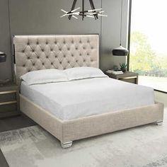 Swire Slate Grey Bed Black White Grey Interior