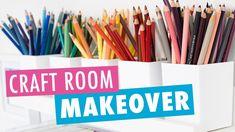 Craft Room Makeover 2020 and First Stationery Haul! (Washi, Ohuhu, Stick... Craft Room Storage, Craft Organization, Marker Storage, New Crafts, Washi, My Design, Coloring, Room Ideas, Stationery