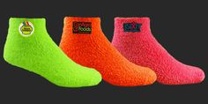 Warm fuzzy socks in multiple bright colors will have people tapping there toes to your brand. Put a logo on the socks with embroidery, or full color digiprint.