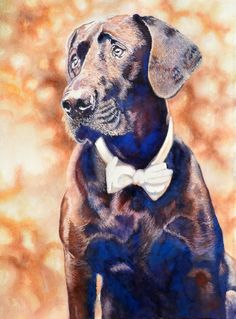 Commissioned Painting Art World, Panther, Watercolor, Artist, Painting, Animals, Pen And Wash, Watercolor Painting, Animales