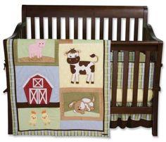 Farm Animal Nursery Decor - Barnyard Baby Bedding
