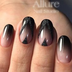 Black nails art is super classy and totally sexy. You can paint your nails shiny black and add some bold color for a French tip. Or you can add gemstones so that your nails sparkle in the sunlight! Check out these totally awesome ideas for black nail designs!