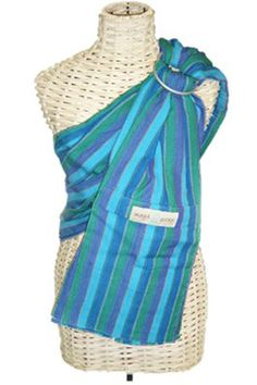 Maya Wrap Ring Sling - so pretty! Me likey! Maya Wrap, Sling Carrier, Ring Sling, Baby Sling, Everything Baby, Cool Baby Stuff, Baby Wearing, Baby Items, New Baby Products