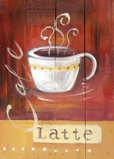 Goals are dreams with deadlines. Happy Sunday!  Original coffee cup painting by Brushes and Strokes.
