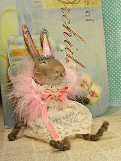 shabby chic Easter by sugarcookiedolls