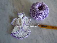 Crochet - ANGELS. recordatorios bautizo