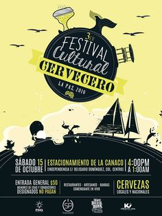 3er Festival Cultural Cervecero  2016, 15-oct, CANACO, La Paz