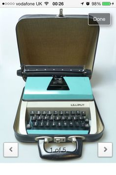 Lilliput typewriter