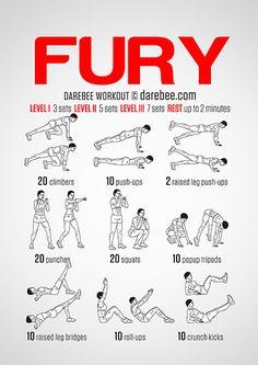 Fury Workout