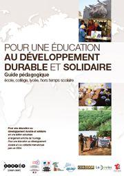 Pour une                                     éducation au développement durable                                     et solidaire