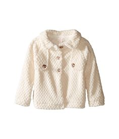 Pumpkin Patch Kids Fleece Jacket (Infant/Toddler/Little Kids/Big Kids) French Vanilla - 6pm.com