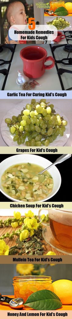 5 Homemade Remedies for Kids Cough - Natural Treatments & Cure For Kids Cough | Search Home Remedy