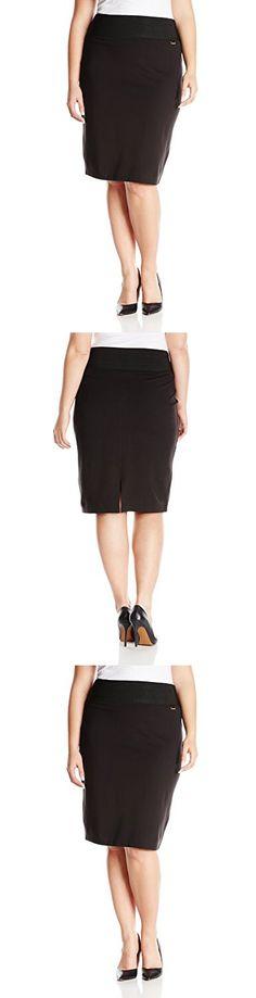 0e0b1596951 Calvin Klein Women s Plus-Size Essential Power Stretch Pencil Skirt