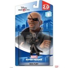 Disney Infinity: Marvel Super Heroes (2.0 Edition) Nick Fury Figure (Universal)
