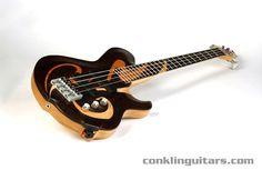 custom bass guitar | 20th Anniversary commemorative Crossover 4 string bass