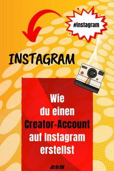 Du willst Instagram-Influencer werden? Dann ist der Creator-Account perfekt für dich. Sieh dir an, warum das so ist und wie du zu einem Instagram-Konto für Influencer wechselst. #socialmedia #instagram #instagramtipps #jobion Instagram Creator, Virtual Community, Influencer, Marketing, Text Posts, Videos, The Creator, Social Media, Digital