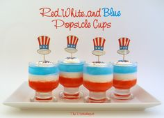 The Partiologist: Popsicle...Cups!
