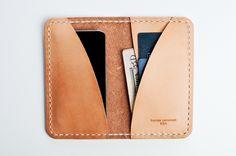Kenton Sorenson leather iphone wallet