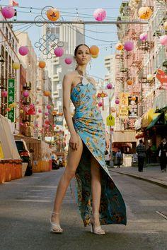 Prabal Gurung Resort 2022 Collection - Vogue Fashion Show, Fashion Outfits, Fashion Design, High Fashion, Women's Fashion, Fashion Beauty, Fashion Looks, Capsule Outfits, Prabal Gurung
