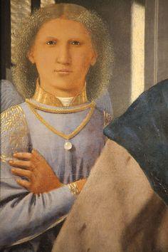 Piero della Francesca, Madonna di Senigallia, c. 1470-85, dettaglio, Urbino, Galleria Nazionale delle Marche