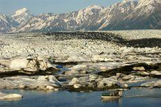 Localización de Star Trek VI: The Undiscovered Country de Nicholas Meyer. Glaciar Knik, Alaska