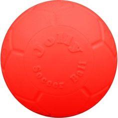 Jolly Pets Jolly Soccer Ball, Orange