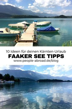 Region Villach: 10 Tipps für den Faaker See – Fitness And Exercises Outdoor Reisen, Reisen In Europa, Travel Companies, Outdoor Travel, Continents, Adventure Travel, Traveling By Yourself, Travel Destinations, Explore