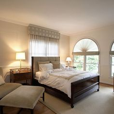 Master Bedrooms + Windows + Chairs Design, Pictures, Remodel, Decor and Ideas