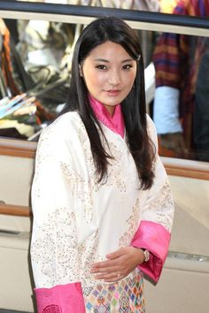 Queen Jetsun Pema pictured during her official visit to Tokyo, Japan, in 2011.