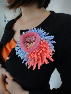 """Hui Ting Chen (Claire Chen) - - rubber """"sea"""" jewels - -   clairechen2012.pixnet.net/blog"""