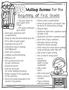 teaching writing centers first grade tips more for and 6 6 Tips for Teaching First Grade Writing First Grade Centers and MoreYou can find Writing lessons and more on our website First Grade Writing, Teaching First Grade, First Grade Classroom, 1st Grade Writing Prompts, First Grade Lessons, Grade 1 Reading, Sentence Writing, Opinion Writing, Guided Reading