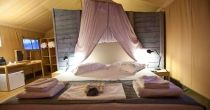 Kingsize Bed Glamping, Greece, Bed, Island, Furniture, Home Decor, Greece Country, Decoration Home, Stream Bed
