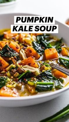 Vegetarian Vegetable Soup, Vegetable Soup Recipes, Veggie Soup, Healthy Soup Recipes, Healthy Cooking, Vegetarian Recipes, Healthy Eating, Cooking Recipes, Chicken And Kale Recipes