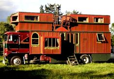 There's not many of these wonderful  bohemian styled gypsy housetrucks around any more.